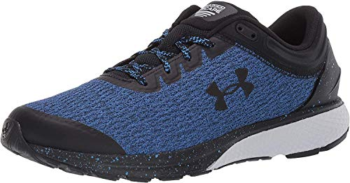 Under Armour Men's Charged Escape 3 Running Shoe, Water (403)/Black, 10.5