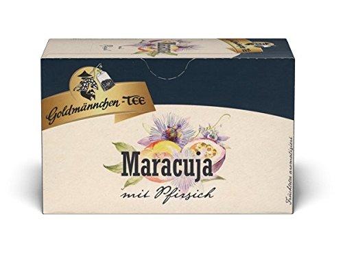 Goldmännchen Tee - Sanfte Maracuja mit Pfirsich einzeln versiegelt (2x40g)