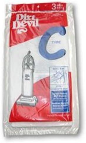 Dirt Devil Royal Upright Type C Paper Bags 3PK Manufacture Part 3700147001 by Dirt Devil product image