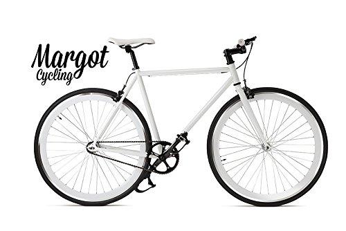 Margot Swan Fluo 58 - Bici Scatto Fisso, Fixed Bike, Bici Single Speed, Bici Fixie