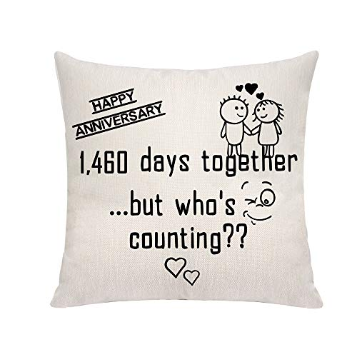 VAVSU Lovely Linens - Fundas de almohada para regalo para celebrar el...