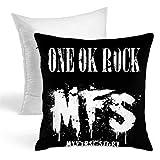 ONE OK ROCK ワンオクロック MFS 装飾枕両面タイプ 抱き枕 ソファ 抱き枕 装飾スロー枕 座布団 スロー枕 家庭装飾 装飾的な枕