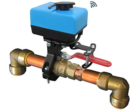 Econet controls evc200-hcsml the bulldog valve robot, z-wave water...