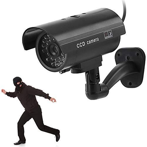 Bullet Dummy Camera, simulatie monitor camera met LED knipperlichten, waterdichte nep binnen / buiten nep bullet camera voor thuis, winkelcentrum, restaurant, superma