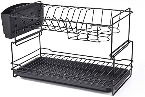 RUNESS Kitchen Supplies Spasm price Dish Compact Max 82% OFF Rack Drying