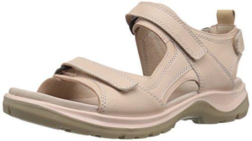 ECCO Damen Offroad Peeptoe Sandalen, Pink (Rose Dust 59530), 41 EU