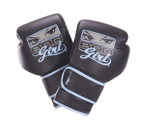 Bad Girl Boxing Gloves - 10oz - Blue