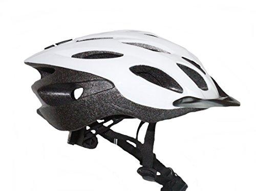 Fahrradhelm Helm Weiß L 58-61 cm