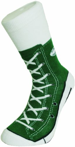 Bluw Sneaker Socken grün - Silly Socks im Sneakers Turnschuhe Stil