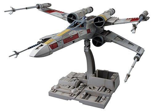 "Bandai Hobby Star Wars 1/72 X-Wing Star Fighter Building Kit, Multi, 8"" (BAN191406)"