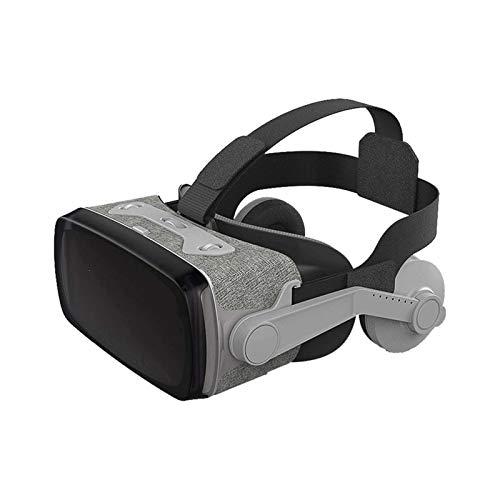 HDCDKKOU Auriculares VR compatibles con iOS y teléfono Android - Gafas de Realidad Virtual Universal - Reproducir Sus Mejores Juegos móviles 360 películas con Nuevas y Suaves y cómodas Gafas VR 3D