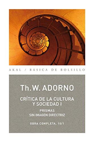 Crítica de la cultura y sociedad I: 71 (Básica de Bolsillo)