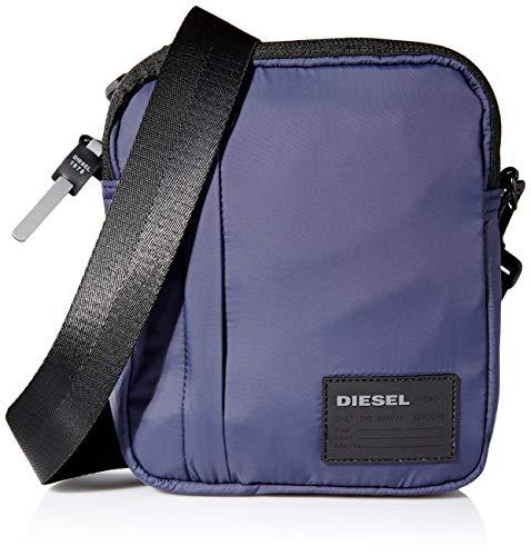 Diesel Mäns Discover-me Oderzo väska och plånbok, 1 x 22 x 18 centimeter (B x H x L), Blå (Blue Nights) - 1x22x18 centimeters (W x H x L)