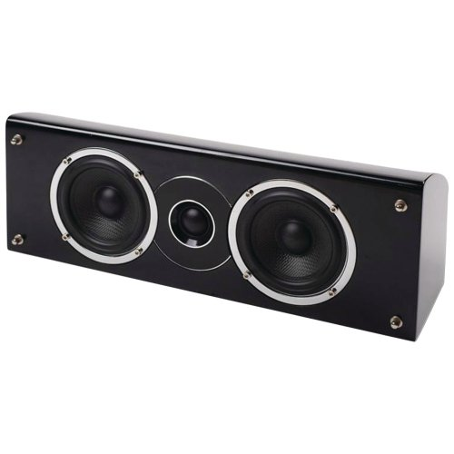 Why Choose PURE ACOUSTICS 4 2-Way Noble II Gloss Black Center Channel Speaker Home Audio Crossover,...