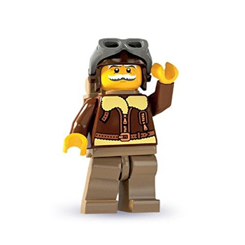 Lego: Minifigures Series 3 Old Timer Pilot Mini-Figure