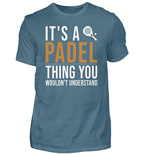 Padel Padel Tennis Padel 01077 - Camiseta para hombre Color azul. XXL