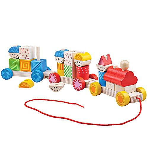 Bigjigs Toys Build Up Train
