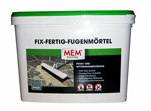 MEM Fix&Fertig Fugenmörtel, steingrau, 25 kg