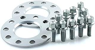 12168E/_48/_4250891965469 10mm Rad LK: 5x112 NLB: 66,6mm SilverLine Spurverbreiterung 20mm Achse