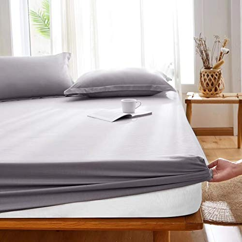 BOLO Adecuado para sábanas, no necesita planchado, microfibra súper suave, fácil de limpiar, 2 unidades