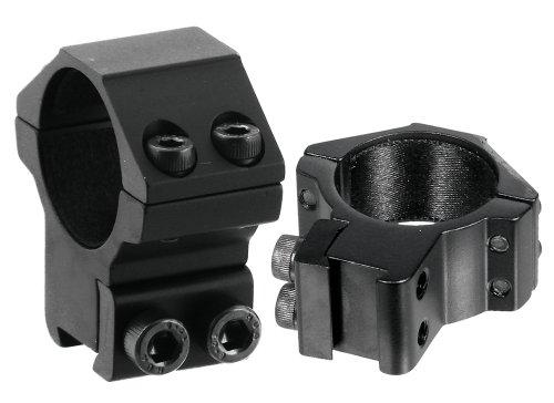 UTG 30mm/2PCs Medium Profile Airgun Rings w/Stop Pin