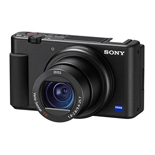 Sony ZV-1 Kamera für Content Creators, Vlogging und YouTube mit Flip Screen und Mikrofon