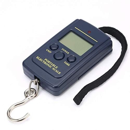 Hanging Luggage Electronic Portable Digital Scale lb oz Weight Scale 40kg x 20g (Includes 2xAAA Batteries)
