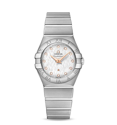 OMEGA - Orologio da Donna Constellation Quarzo 27 mm - 123.10.27.60.52.001