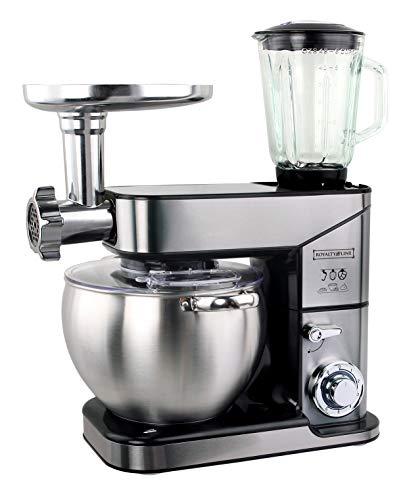Robot de cocina 3 en 1, 10 L, 2500 W, máx. Silver Royalty L