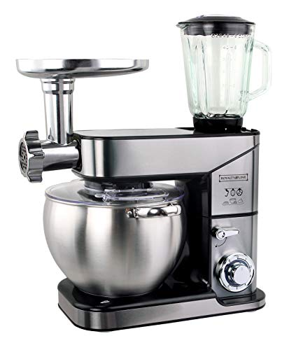 Robot da cucina 3 in 1 10 L 2500 W max Argento Royalty Line