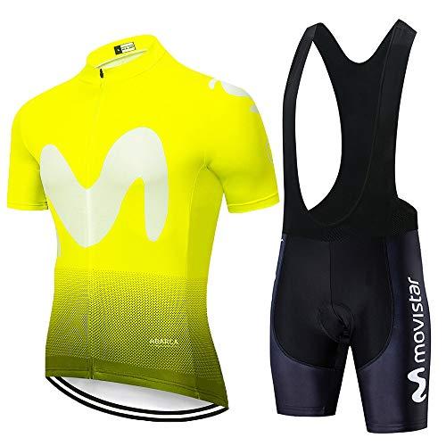 HXPainting Ropa Ciclismo Hombre Verano Trajes De Ciclismo Equipacion Bicicleta Maillot MTB+...