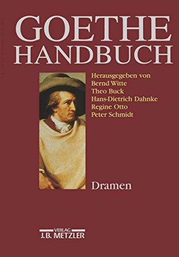 Goethe-Handbuch: Band 2: Dramen