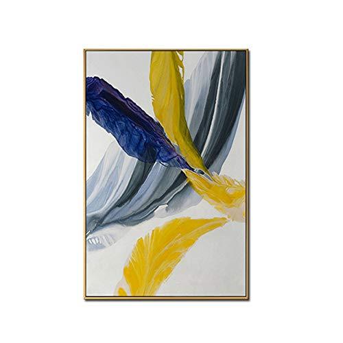 dubdubd abstrakteTönungsfarbe Ölgemälde auf LeinwandWandkunstfür WohnzimmerWohnkulturLeinwandmalereiKunstwerk -60x80cm No Frame