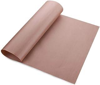 Tapis de cuisson réutilisable Feuille de téflon résistant aux hautes températures Pâtisserie Cuisson Papier huilé Tampon r...