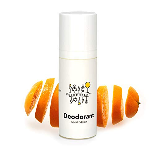 Feygenblatt Deocreme Fruchtig- Deocreme ohne Aluminium - Naturkosmetik Deodorant mit ätherischen Ölen - Deo Herren - Deo Damen - Natural Antitranspirant