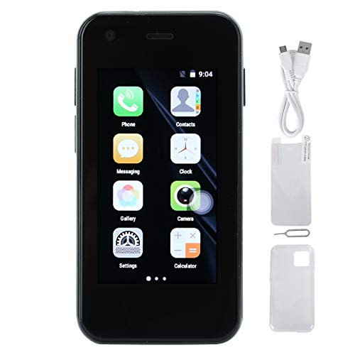 Exliy XS11 Intelligent System Piccolo Telefono Cellulare, Schermo colorato IPS da 2,5 Pollici Smartphone, 3G Mini Smartphone WiFi Portatile per Android, Memoria 1 + 8G Integrata(Verde)