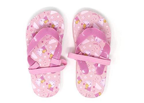 Peppa Pig Badeschuhe Pantolette Sandale Schuhe mit Riemen (26/27 EU, Peppa Wutz A02)