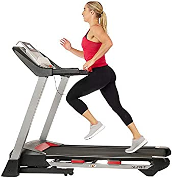 Sunny Health & Fitness Incline Treadmill with Bluetooth Speakers
