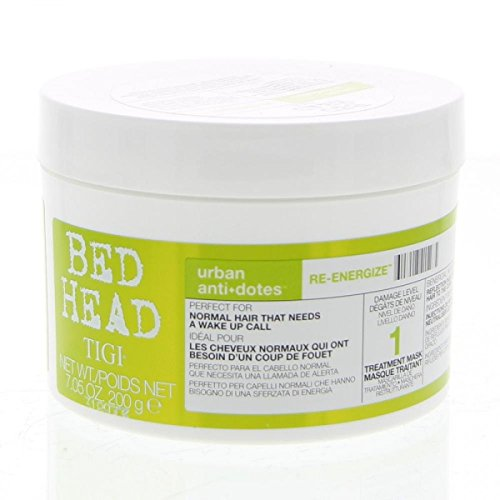 TIGI Bed Head Urban Antidotes 1RE de Energize Treatment Mask Pack of six (6x 200g)