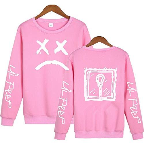 LLYTX Hoodie Lil Peep Herren Damen Pullover für Kinder ohne Kapuze Plus Velvet Winter Sweater Street Sweatshirt-CYT-11_XL