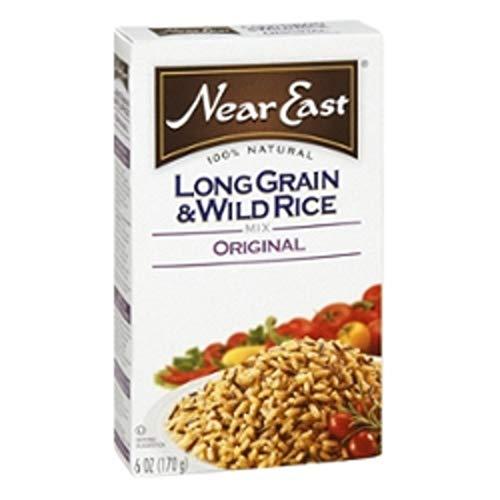Near East, Long Grain & Wild Rice Mix, Original, 6oz Box (Pack of 6)