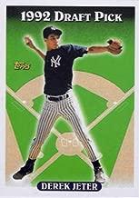 1993 Topps - Derek Jeter - 1992 Draft Pick - New York Yankees Baseball Rookie Card RC #98