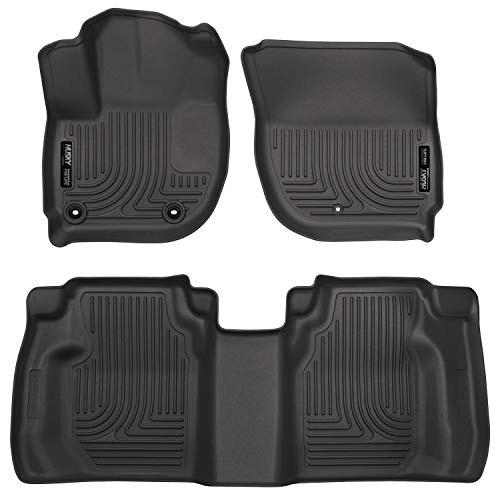 Husky Liners 99491 Front & 2nd Seat Floor Liners (Footwell Coverage) Fits 15-16 Fit