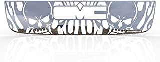 Ferreus Industries Grille Insert Guard Skull Flame Polished Stainless fits: 2003-2006 GMC Sierra TRK-131-10-Chrome-a