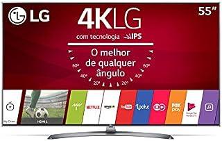 "Smart TV LG Ultra HD 55"" Nano Cell 4K 55UJ7500 com Dolby Vision, HDR, WebOS 3.5, Multi View"