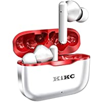 Kikc Bluetooth 5.0 Noise Cancelling Headphones with Built-in Microphone