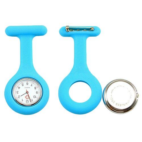 Pe@mak - Reloj analógico para enfermería (con aguja de seguridad)