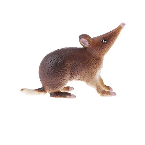 Modelo de Animales de Simulación Araña/Gallo/Caballo/Alpaca Juego de Imaginación para Niños - Bandicoot Rata