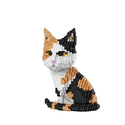 BlueBrixx 16036 Marke Balody – Katze Mehrfarbig aus Klemmbausteinen mit 1300 Bauelementen. Kompatibel mit Lego. Lieferung in Originalverpackung.