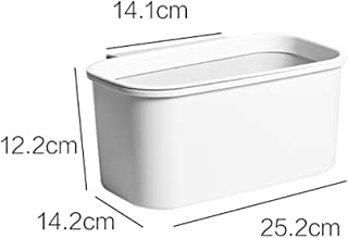 Can Be Hung To The Trash Can Waterproof Large Capacity Environmentally Friendly Storage Box for A Variety Of Scenarios (Color : B, Size : M)